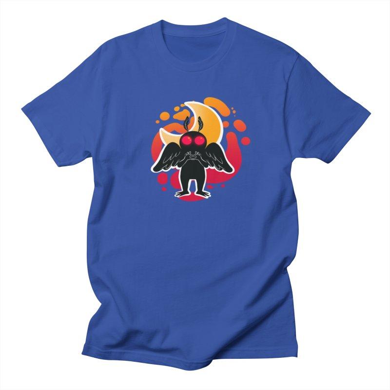 Mothman sends his love Women's Regular Unisex T-Shirt by AnimeGravy