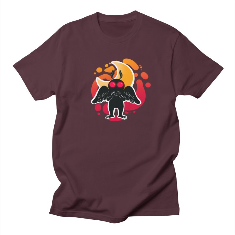 Mothman sends his love Men's Regular T-Shirt by AnimeGravy