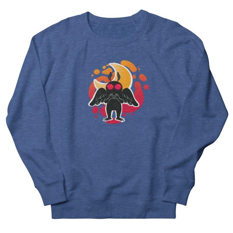 Mothman sends his love Women's French Terry Sweatshirt by AnimeGravy