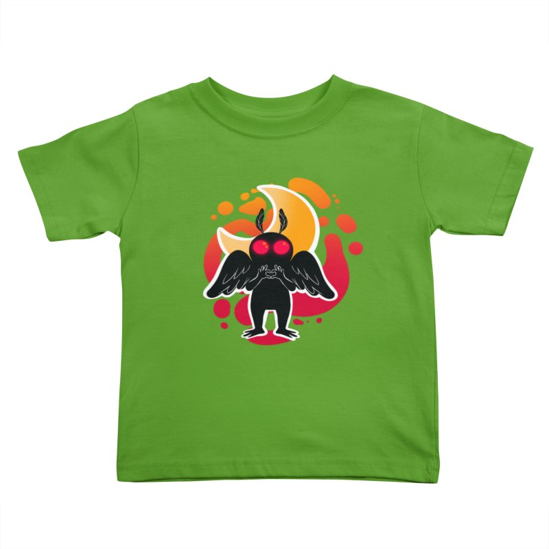 Mothman sends his love Kids Toddler T-Shirt by AnimeGravy