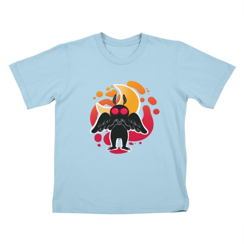 Mothman sends his love Kids T-Shirt by AnimeGravy