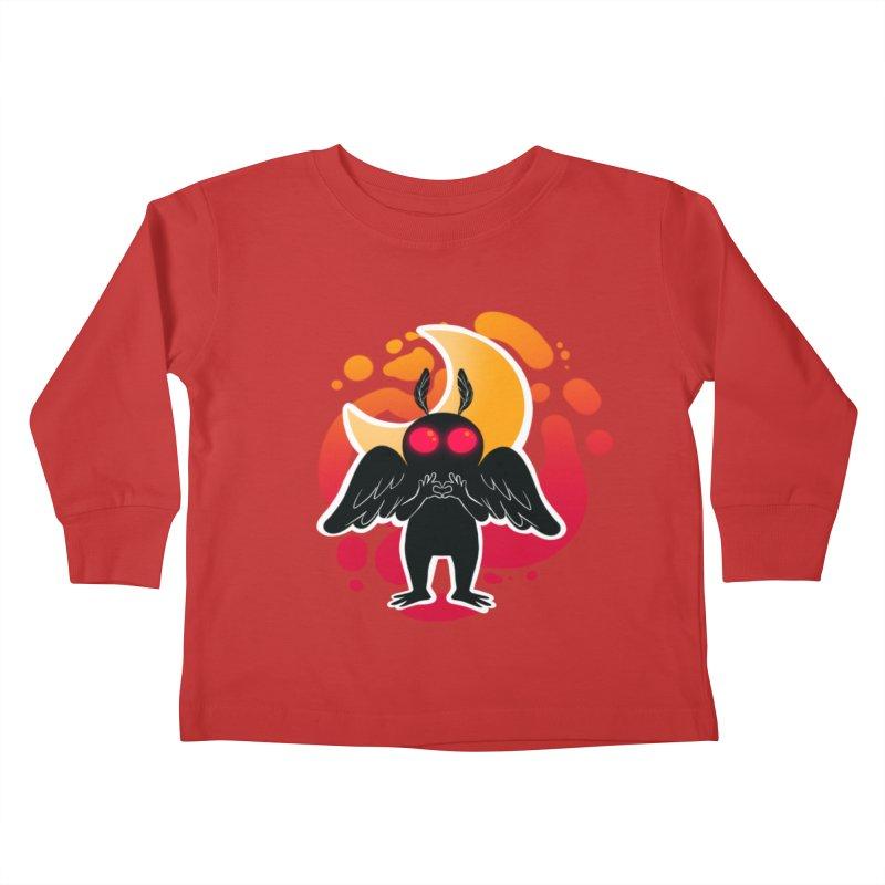 Mothman sends his love Kids Toddler Longsleeve T-Shirt by AnimeGravy