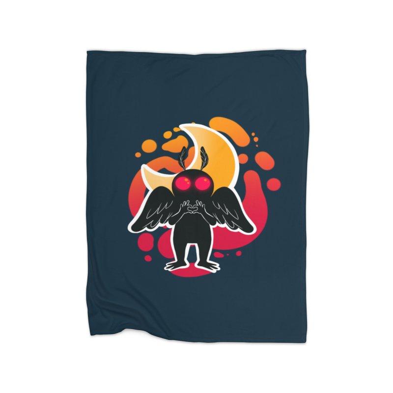 Mothman sends his love Home Blanket by AnimeGravy