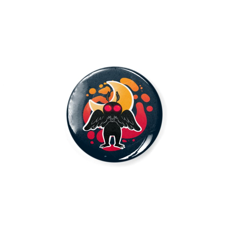 Mothman sends his love Accessories Button by AnimeGravy
