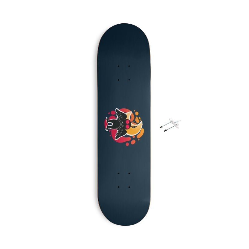 Mothman sends his love Accessories With Hanging Hardware Skateboard by AnimeGravy