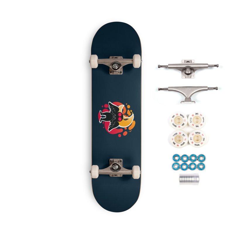 Mothman sends his love Accessories Complete - Premium Skateboard by AnimeGravy