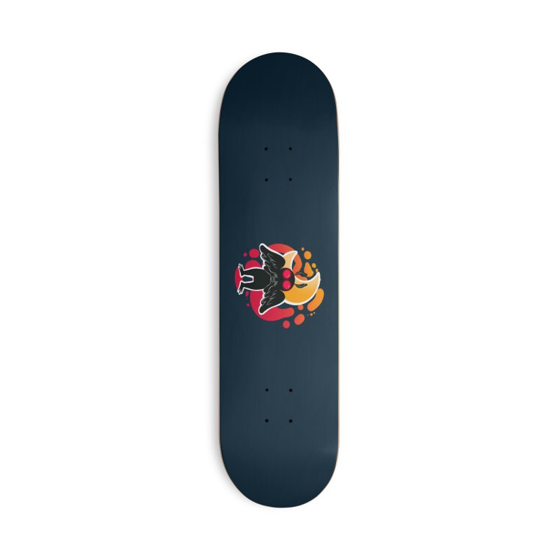 Mothman sends his love Accessories Deck Only Skateboard by AnimeGravy