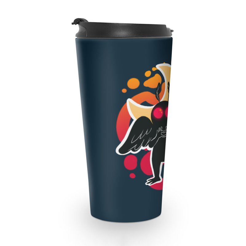 Mothman sends his love Accessories Travel Mug by AnimeGravy