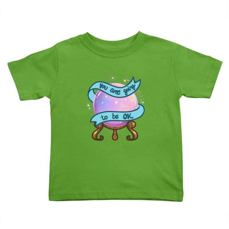 Crystal ball Kids Toddler T-Shirt by AnimeGravy