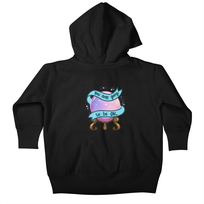 Crystal ball Kids Baby Zip-Up Hoody by AnimeGravy
