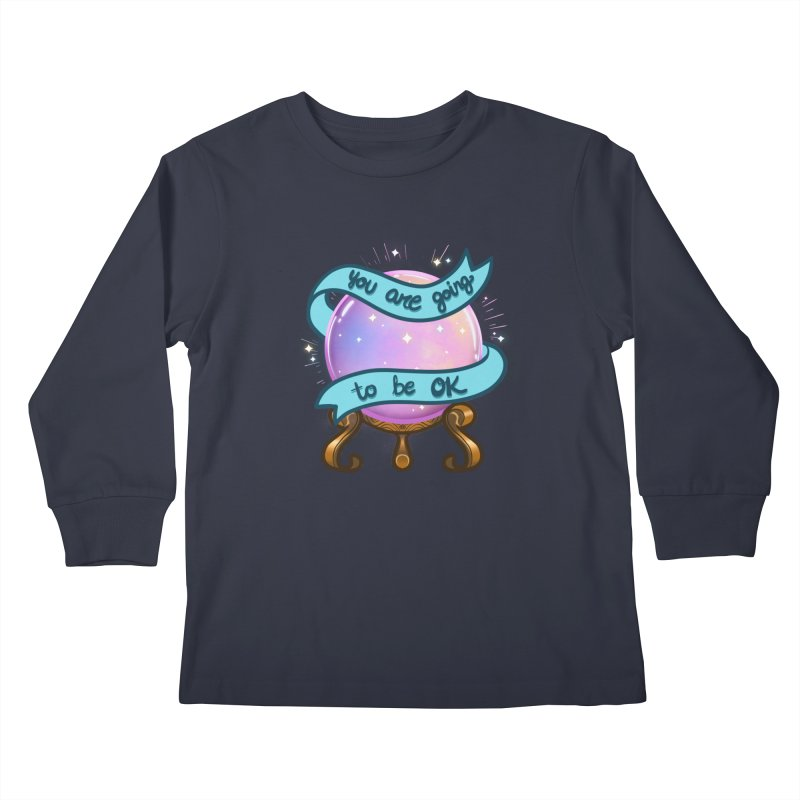 Crystal ball Kids Longsleeve T-Shirt by AnimeGravy