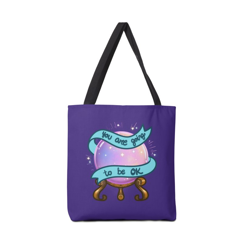 Crystal ball Accessories Tote Bag Bag by AnimeGravy