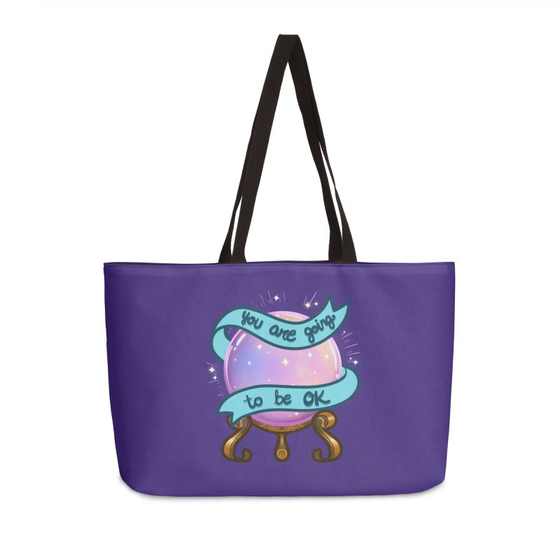 Crystal ball Accessories Weekender Bag Bag by AnimeGravy
