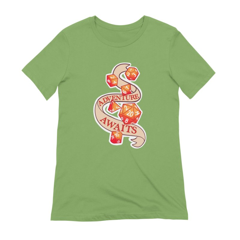 Dnd Adventure Awaits Women's Extra Soft T-Shirt by AnimeGravy