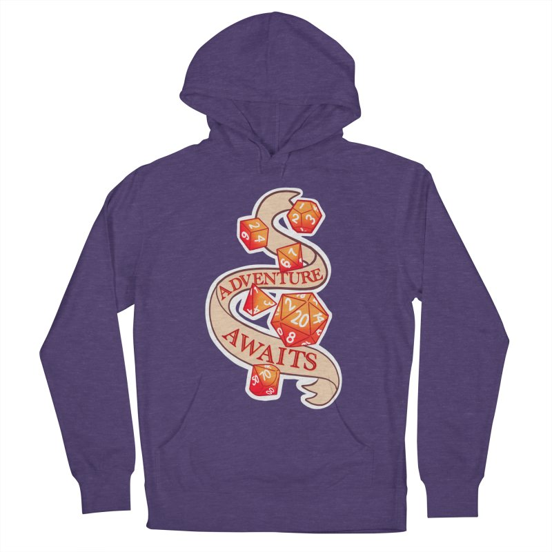 Dnd Adventure Awaits Men's French Terry Pullover Hoody by AnimeGravy