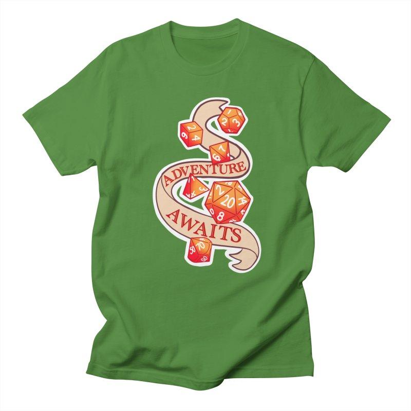 Dnd Adventure Awaits Women's Regular Unisex T-Shirt by AnimeGravy