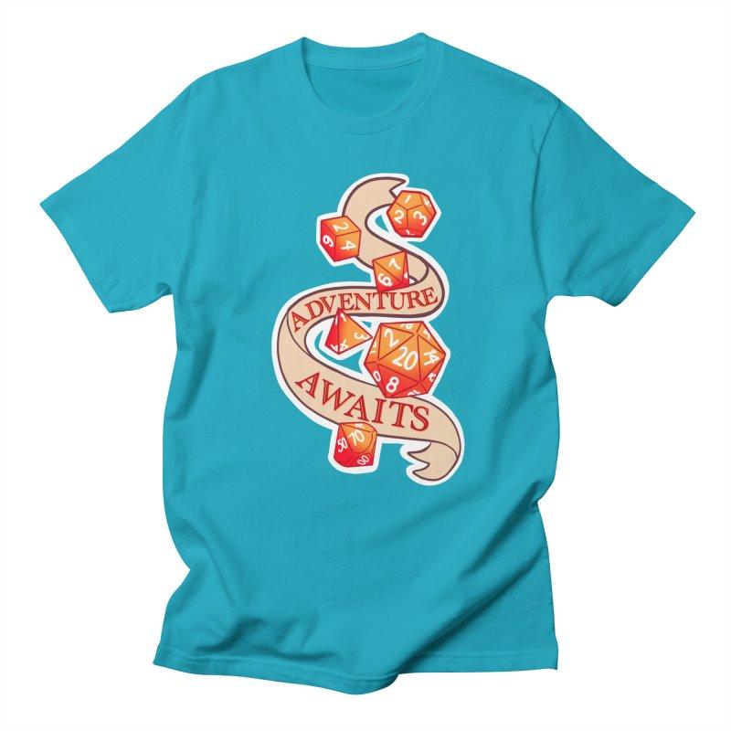 Dnd Adventure Awaits Men's Regular T-Shirt by AnimeGravy