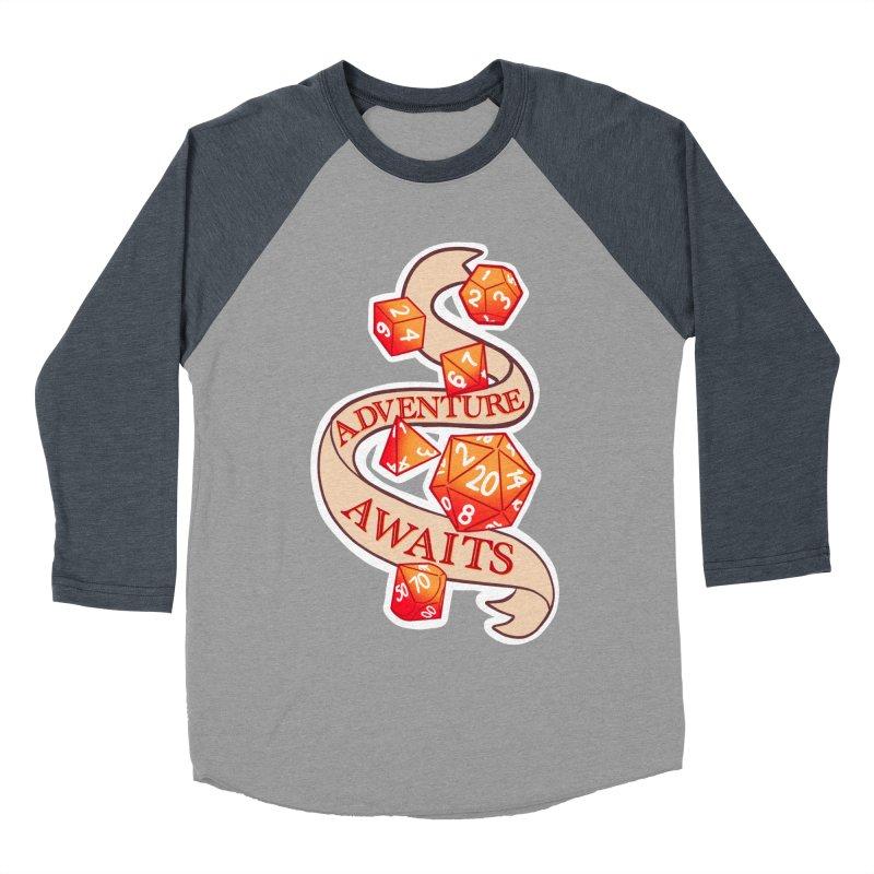 Dnd Adventure Awaits Women's Baseball Triblend Longsleeve T-Shirt by AnimeGravy