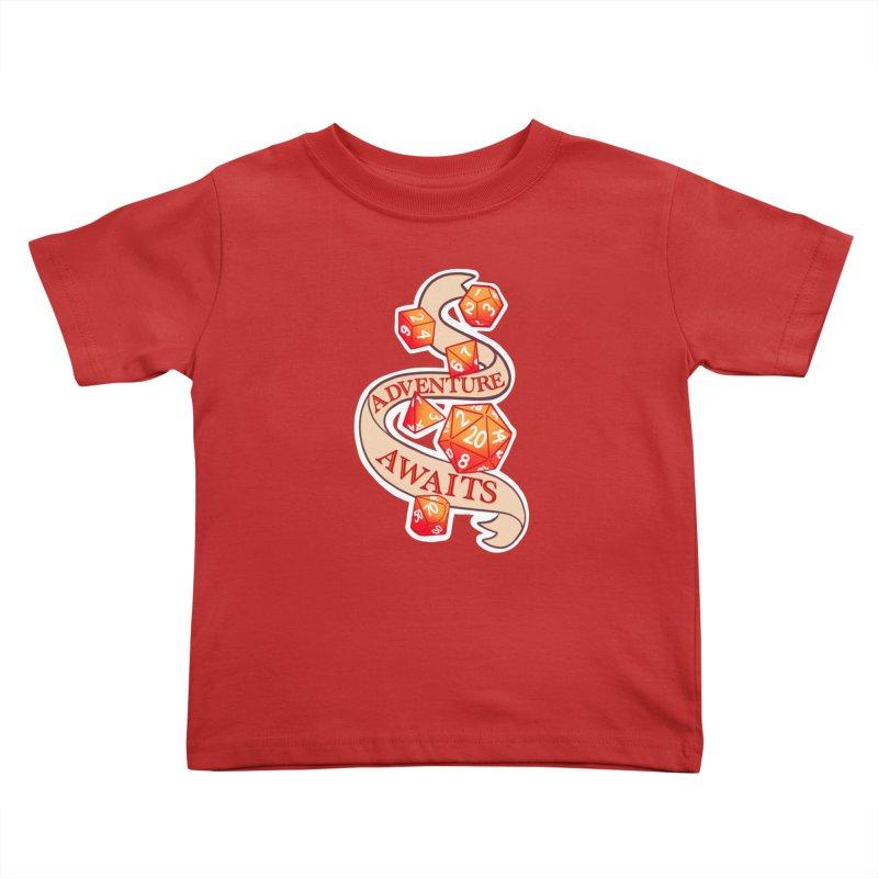 Dnd Adventure Awaits Kids Toddler T-Shirt by AnimeGravy