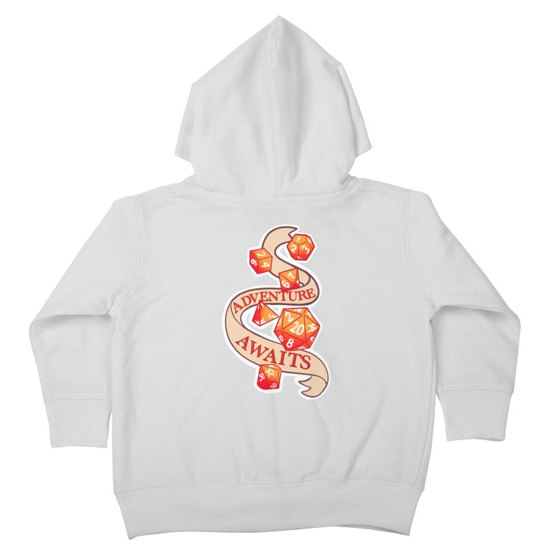 Dnd Adventure Awaits Kids Toddler Zip-Up Hoody by AnimeGravy