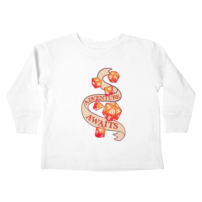 Dnd Adventure Awaits Kids Toddler Longsleeve T-Shirt by AnimeGravy