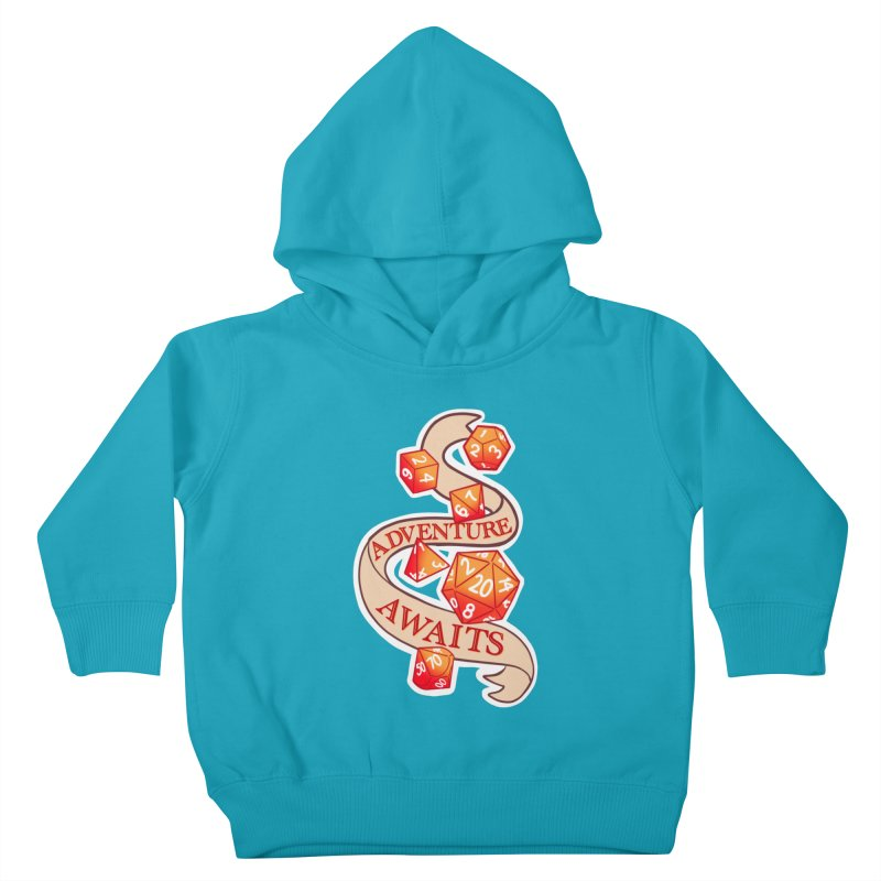 Dnd Adventure Awaits Kids Toddler Pullover Hoody by AnimeGravy