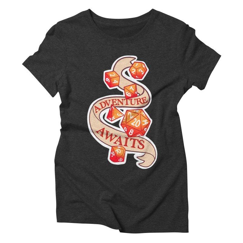 Dnd Adventure Awaits Women's Triblend T-Shirt by AnimeGravy