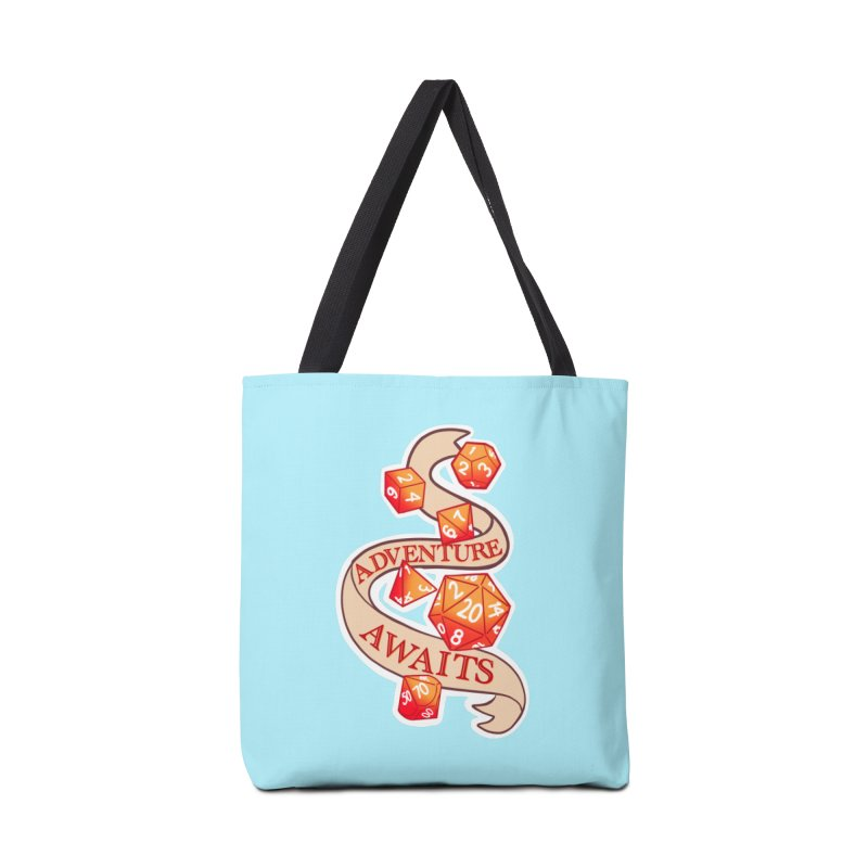 Dnd Adventure Awaits Accessories Tote Bag Bag by AnimeGravy