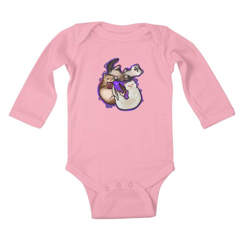 A minor business Kids Baby Longsleeve Bodysuit by AnimeGravy