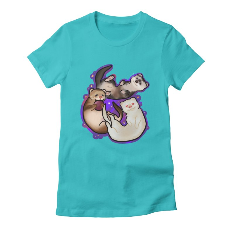 A minor business Women's Fitted T-Shirt by AnimeGravy