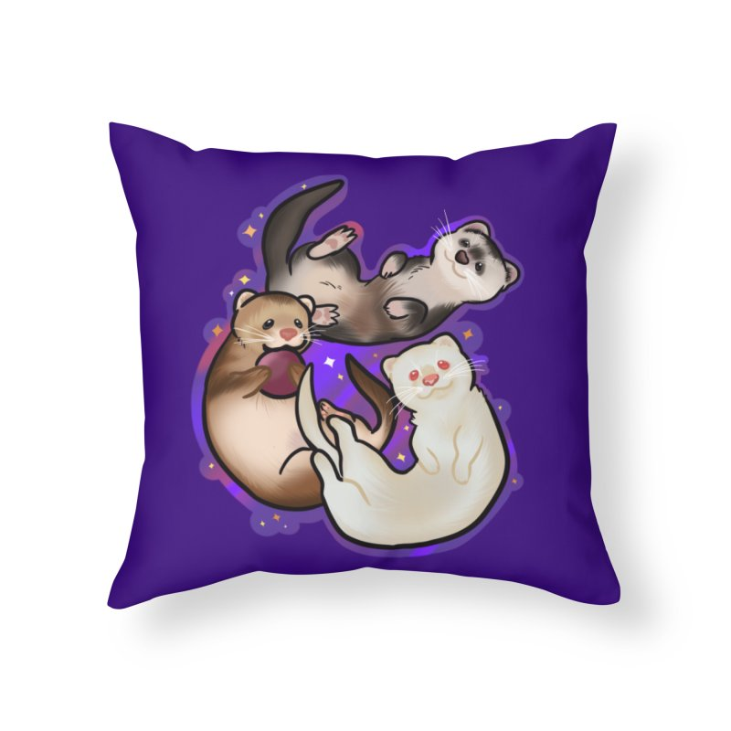 A minor business Home Throw Pillow by AnimeGravy