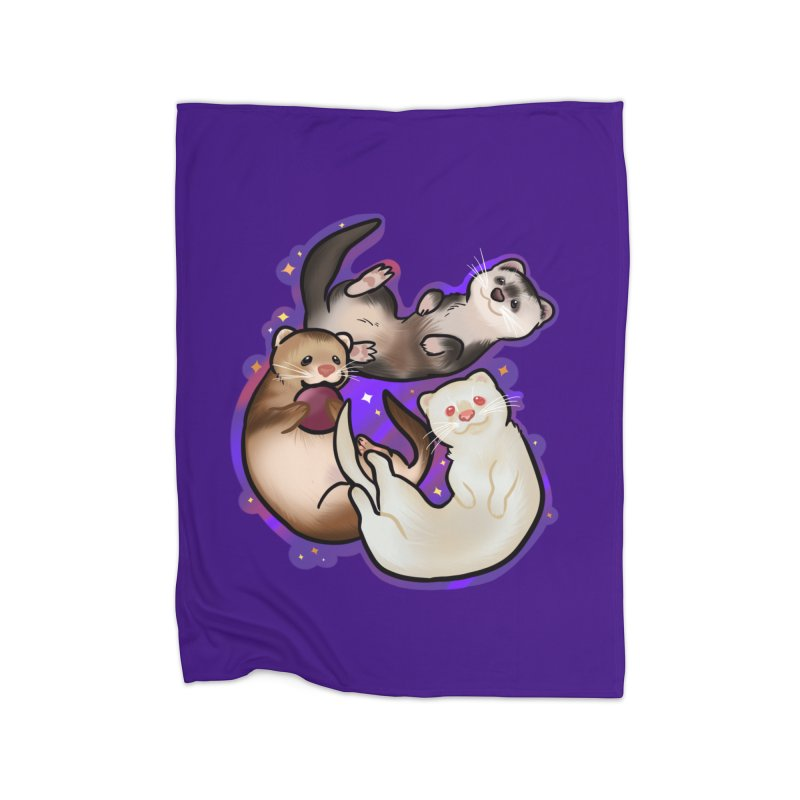 A minor business Home Fleece Blanket Blanket by AnimeGravy