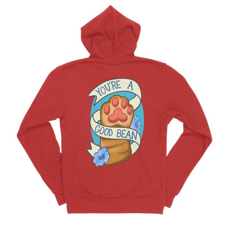 You're a good bean Men's Zip-Up Hoody by AnimeGravy