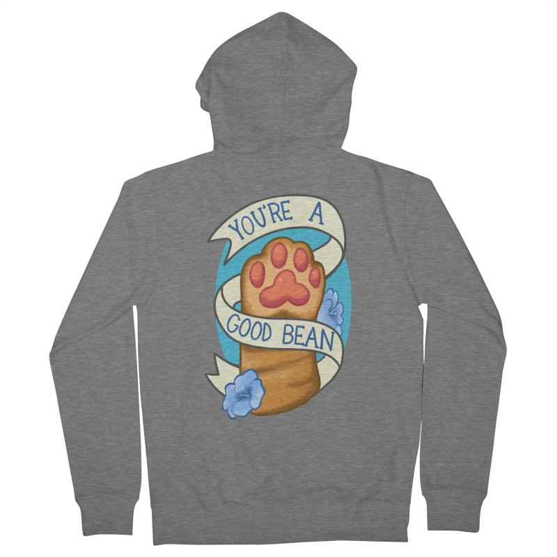 You're a good bean Men's French Terry Zip-Up Hoody by AnimeGravy