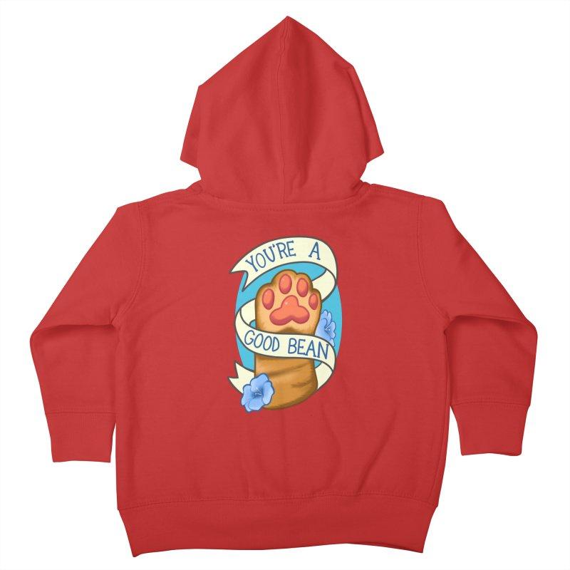 You're a good bean Kids Toddler Zip-Up Hoody by AnimeGravy