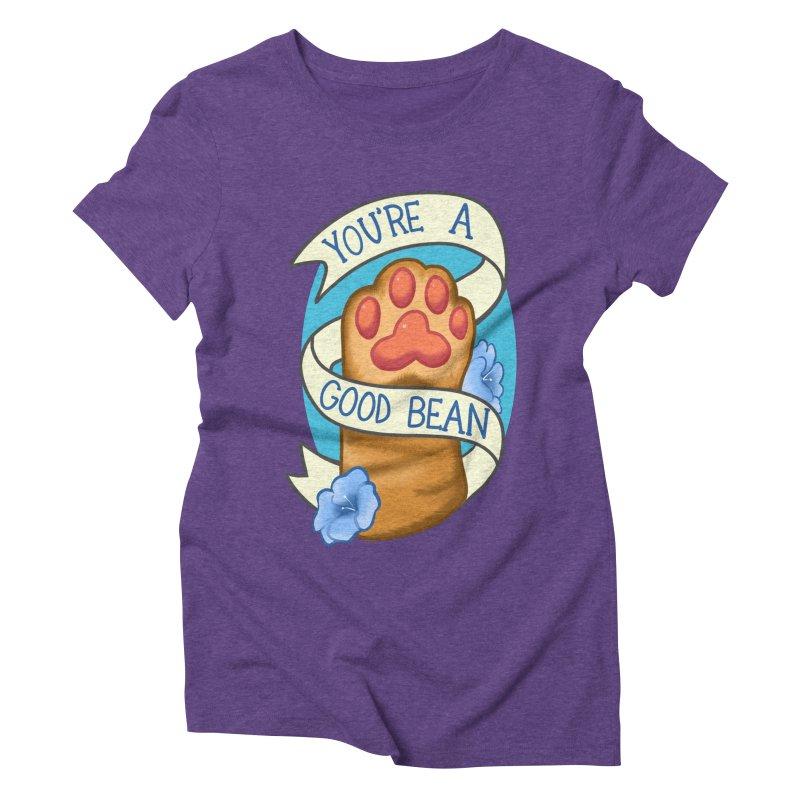 You're a good bean Women's Triblend T-Shirt by AnimeGravy