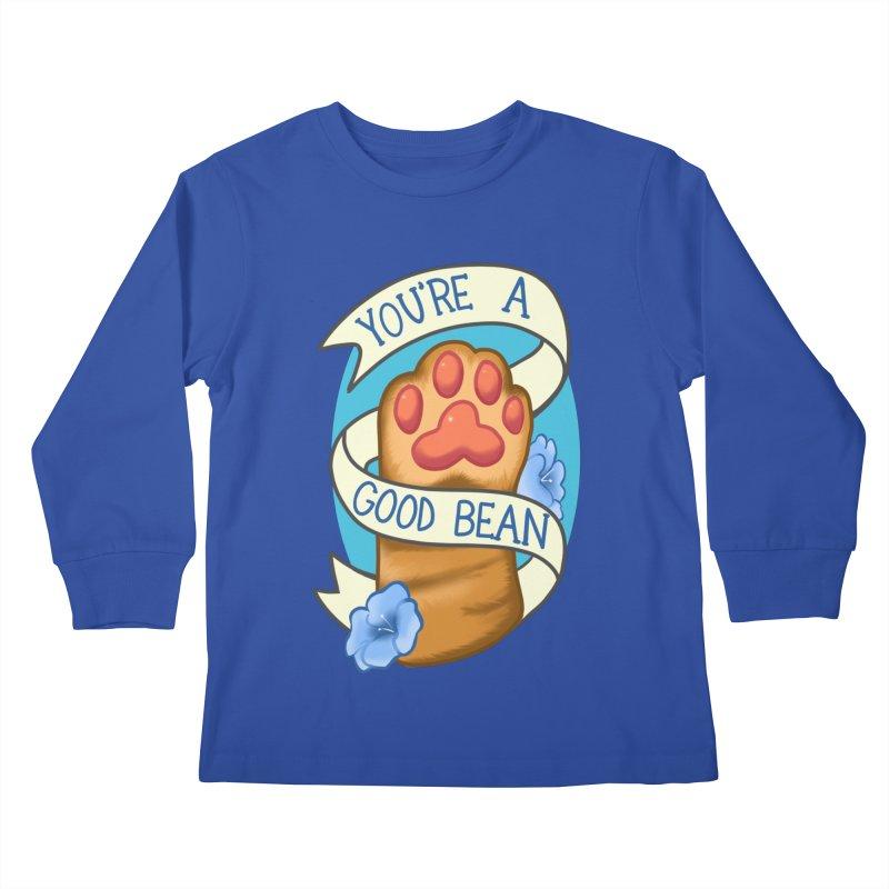 You're a good bean Kids Longsleeve T-Shirt by AnimeGravy