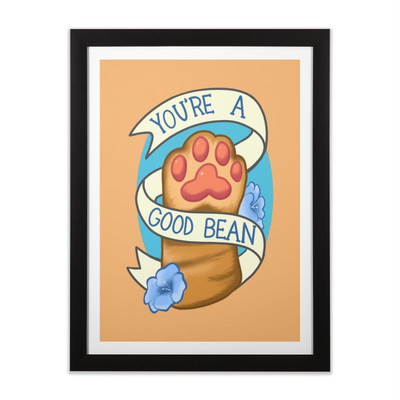 You're a good bean Home Framed Fine Art Print by AnimeGravy