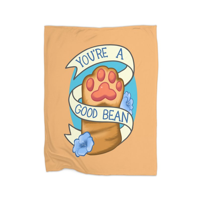 You're a good bean Home Fleece Blanket Blanket by AnimeGravy
