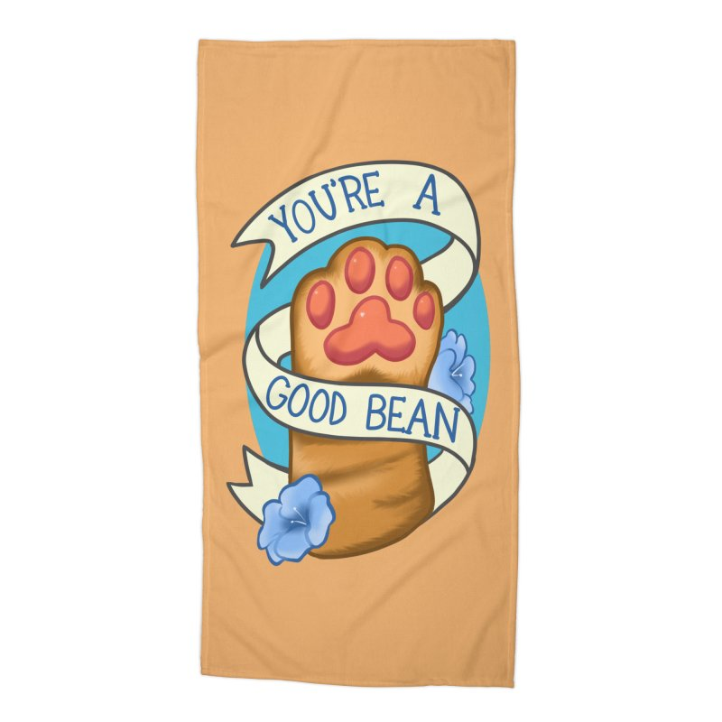 You're a good bean Accessories Beach Towel by AnimeGravy