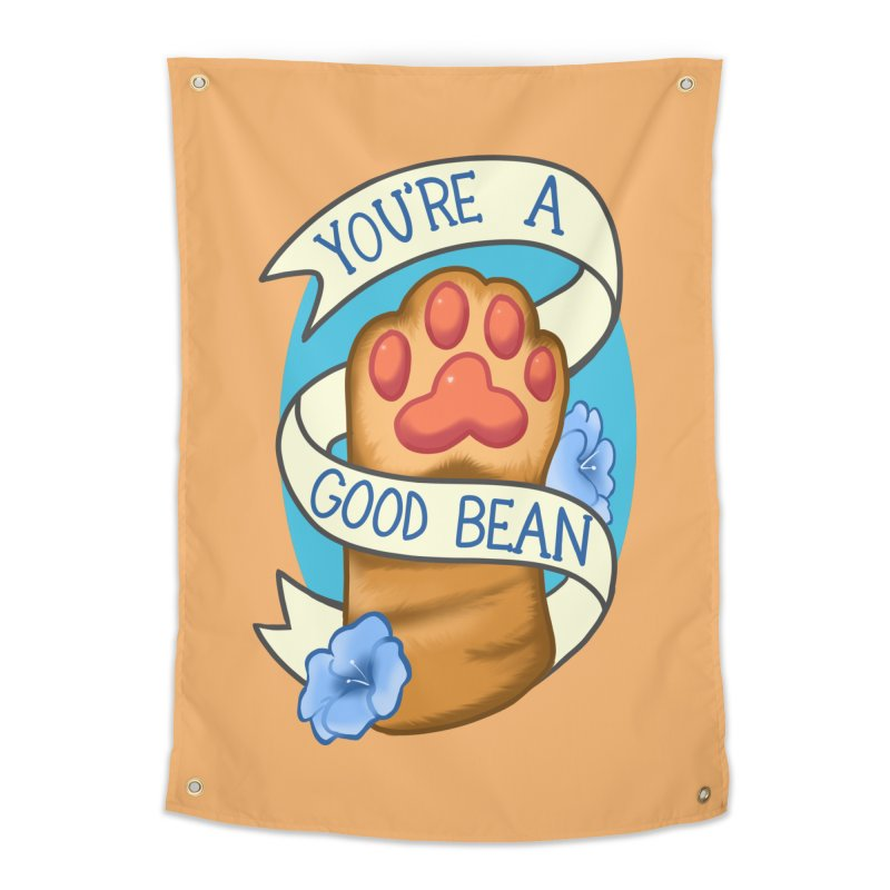 You're a good bean Home Tapestry by AnimeGravy