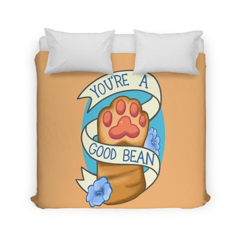 You're a good bean Home Duvet by AnimeGravy