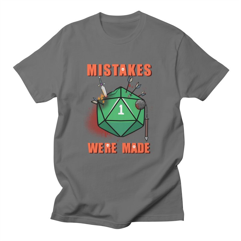 Mistakes were made Men's T-Shirt by AnimeGravy