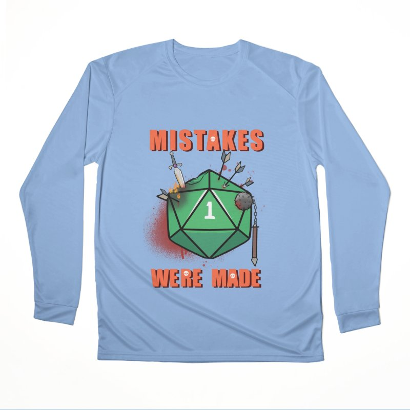 Mistakes were made Men's Performance Longsleeve T-Shirt by AnimeGravy