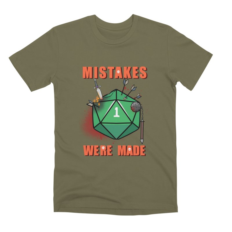 Mistakes were made Men's Premium T-Shirt by AnimeGravy