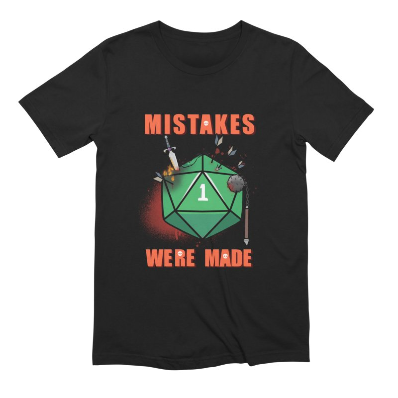 Mistakes were made Men's Extra Soft T-Shirt by AnimeGravy