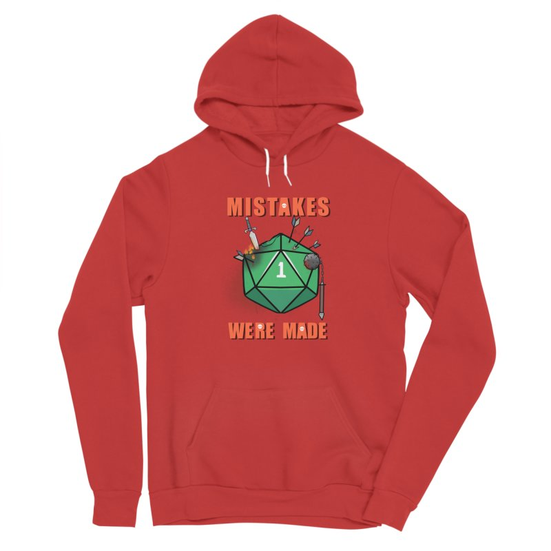Mistakes were made Men's Pullover Hoody by AnimeGravy