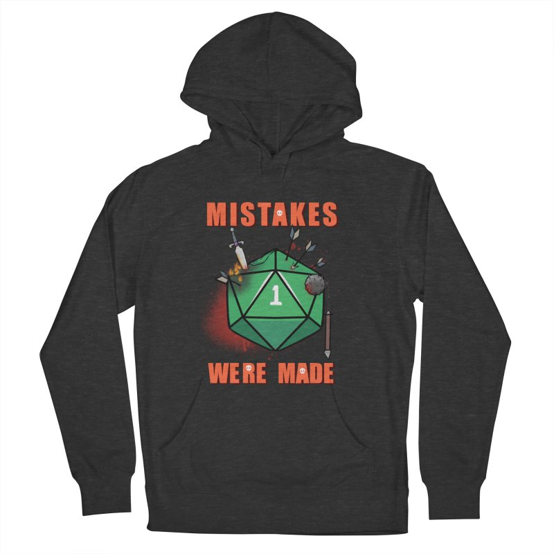 Mistakes were made Women's French Terry Pullover Hoody by AnimeGravy