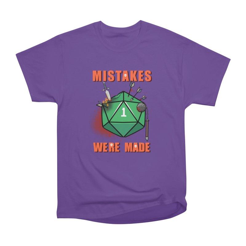 Mistakes were made Men's Heavyweight T-Shirt by AnimeGravy