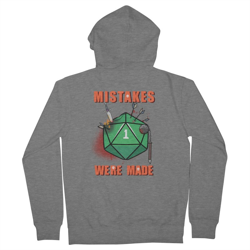 Mistakes were made Women's French Terry Zip-Up Hoody by AnimeGravy